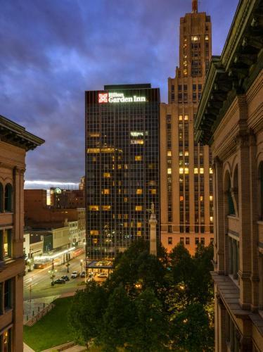 The Hilton Garden Inn Buffalo Downtown Buffalo New York State