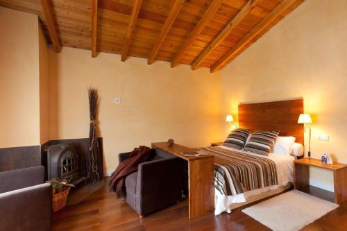 Comfort Doppelzimmer Casa Rural Etxegorri 6