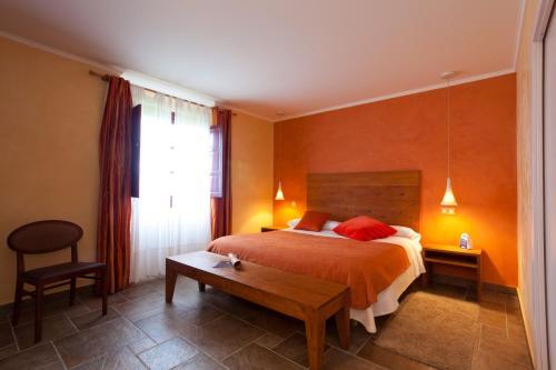 Doppel- oder Zweibettzimmer Casa Rural Etxegorri 2