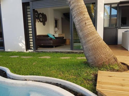 Belle villa contemporaine côté mer, La Saline Le Bains