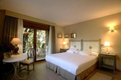 Habitación Doble con terraza Hotel Rural Las Rozuelas 1