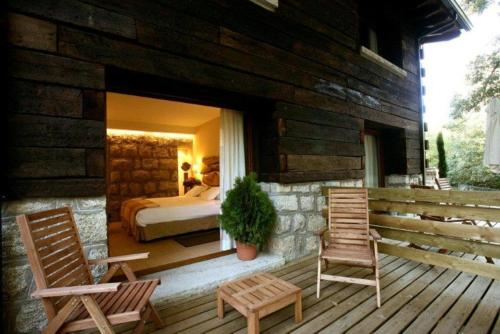 Habitación Doble con terraza Hotel Rural Las Rozuelas 7