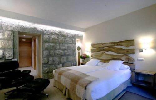 Habitación Doble con terraza Hotel Rural Las Rozuelas 2