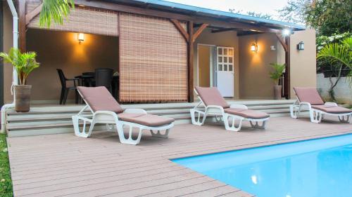 Villa at la Preneuse, Rivière Noire