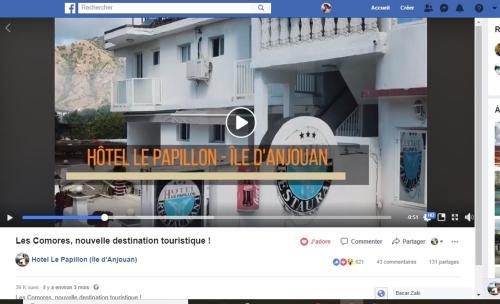 Hotel Le Papillon (Ile d'Anjouan)