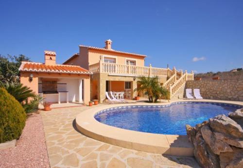 Teulada Villa Sleeps 8 Pool