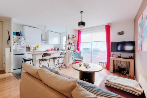 New ! Beautiful and bright T3 in Villeurbanne