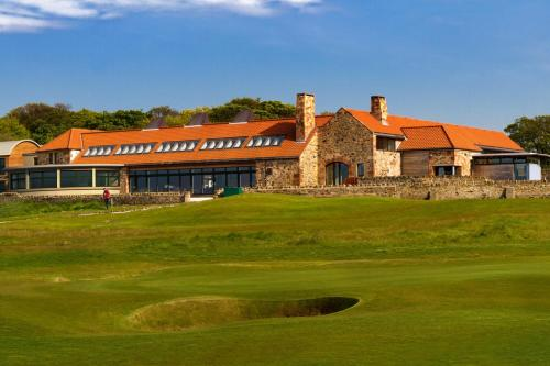 The Lodge at Craigielaw and Golf Courses front view