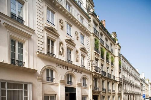 Hotel D 39 Orsay Esprit De France 7th Arrondissement Palais