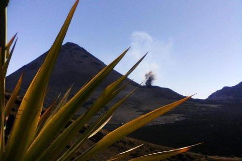 Casa vulcão, Portela