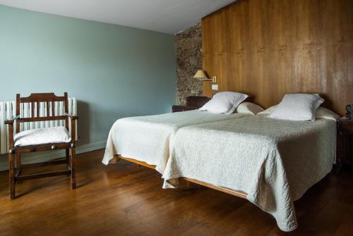 Habitación Doble - 1 o 2 camas Pazo Cibrán 7
