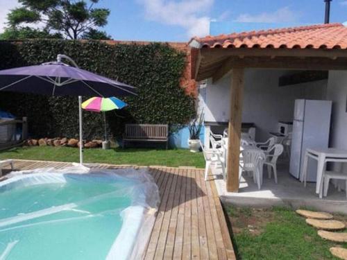2 dormitórios com piscina e hidromassagem