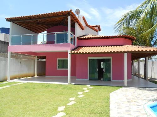 Casa Rosa em Arembepe/Ba.