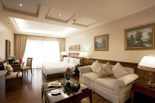 President-suite med kingsize-seng - ryger (Presidential Suite with King Bed - Smoking)