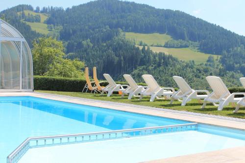Panoramadorf Saualpe - Apartment mit 2 Schlafzimmern und Terrasse
