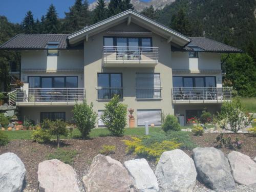 Ferienwohnungen Fritz - Apartment mit 1 Schlafzimmer und Seeblick