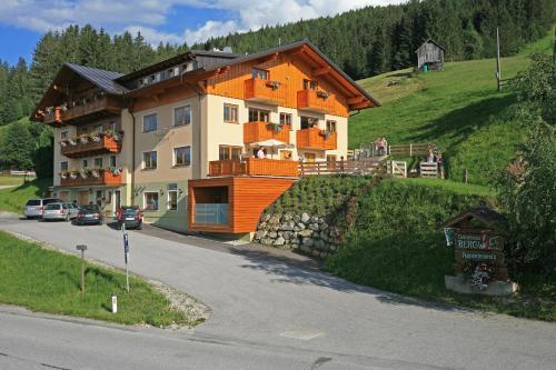 Gästehaus Bergwelt - Apartment mit 1 Schlafzimmer und Balkon