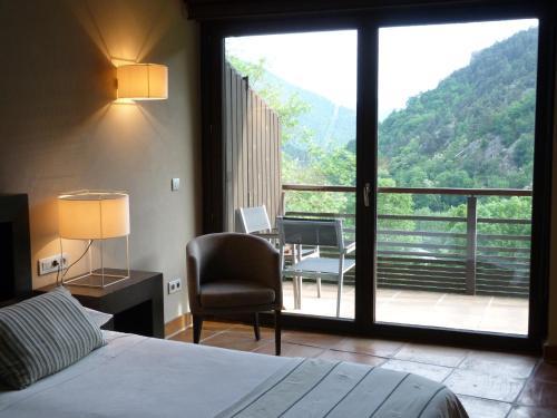Habitación Doble Superior Hotel Rural-Spa Resguard Dels Vents 4