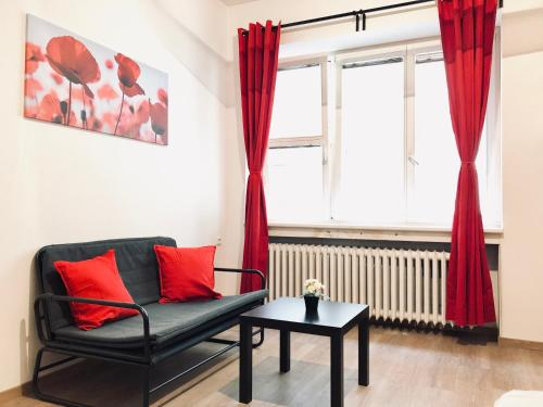 Small renovated flat city center