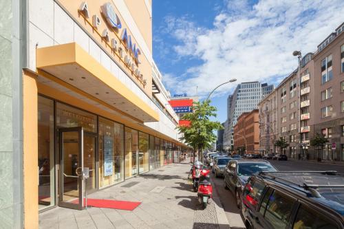 Отель AMC Apartments Berlin 4 звезды Германия
