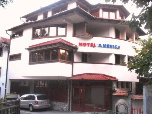 Hotel America front view