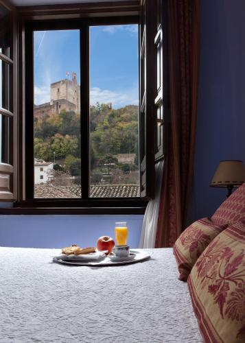 Habitación doble con vistas a la Alhambra - 1 o 2 camas Palacio de Santa Inés 16