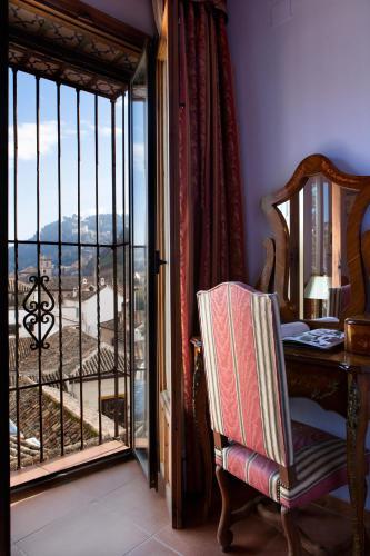Habitación doble con vistas a la Alhambra - 1 o 2 camas Palacio de Santa Inés 17