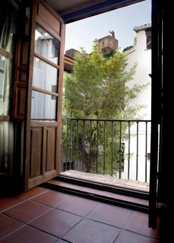 Habitación doble con vistas a la Alhambra - 1 o 2 camas Palacio de Santa Inés 19