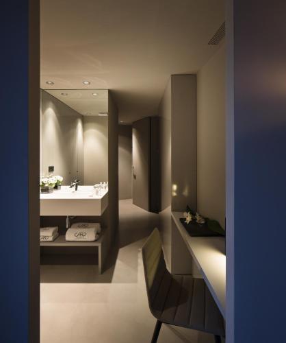 Superior Doppel- oder Zweibettzimmer mit Terrasse - Einzelnutzung Caro Hotel 3