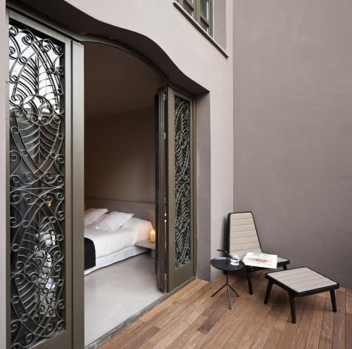 Superior Doppel- oder Zweibettzimmer mit Terrasse - Einzelnutzung Caro Hotel 1