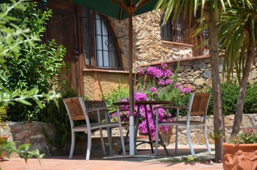 Superior Double Room with Terrace Hotel Galena Mas Comangau 3