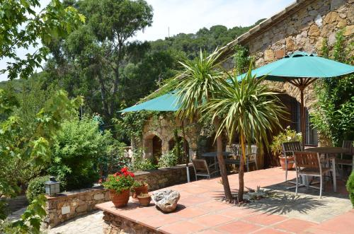 Habitación Doble Superior con terraza Hotel Galena Mas Comangau 18