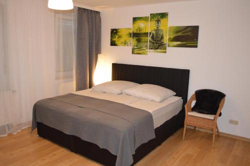 Modernes 1-Zimmer Apartment W-Lan, Stellplatz