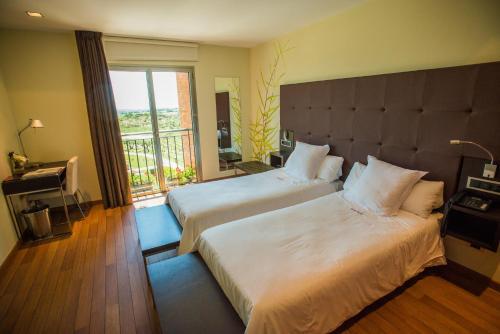 Standard Doppel- oder Zweibettzimmer Hotel Eguren Ugarte 2