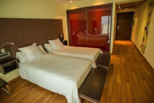 Standard Doppel- oder Zweibettzimmer - Einzelnutzung Hotel Eguren Ugarte 4
