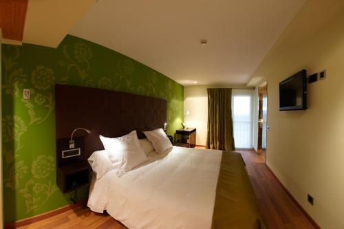 Standard Doppel- oder Zweibettzimmer - Einzelnutzung Hotel Eguren Ugarte 1