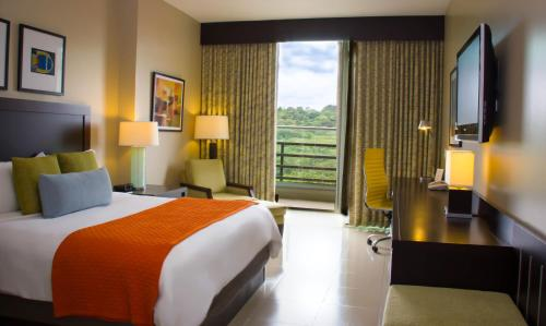Deluxe Room with Rainforest View and Balcony
