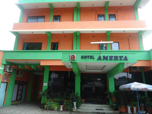 Hotel Amerta front view