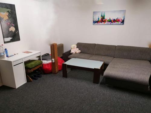 Ferienwohnung Münster Zimmer mit Bad & Küche