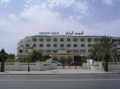 Отель Hotel Green Golf, Ясмине