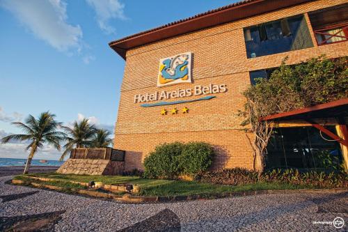 Hotel Areias Belas front view