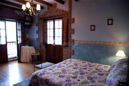 Habitación Doble con bañera de hidromasaje Hotel Rural Posada El Solar 4