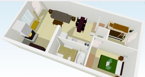 Appartamento con 2 Camere (5 Adulti) (Two-Bedroom Apartment (5 Adults))
