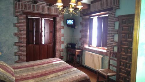 Habitación Doble con bañera de hidromasaje Hotel Rural Posada El Solar 7
