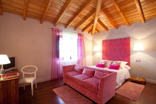 Comfort Doppelzimmer Casa Rural Etxegorri 4