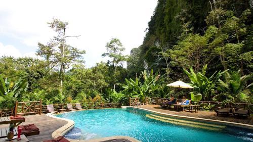 Отель Ao Nang Cliff View Resort 3 звезды Таиланд