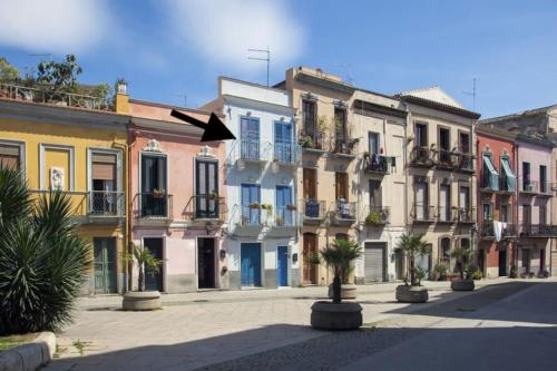 Casa Rossa&Blu in Centro Città