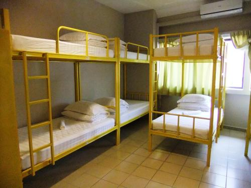 1 Llit Individual en Dormitori Compartit Masculí de 6 Llits (Single Bed in 6-Bed Male Dormitory Room)