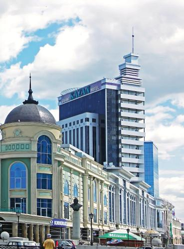 Stay at Grand Hotel Kazan