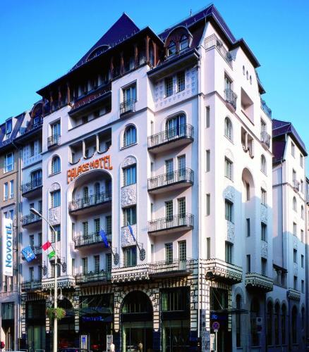 Отель Novotel Budapest Centrum 4 звезды Венгрия